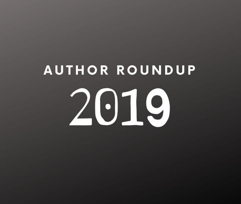 2019 Author Roundup